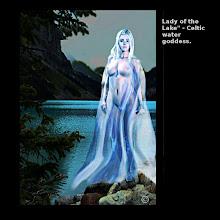 "Photo: Lady of the Lake"" - Celtic water goddess."
