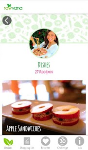 Rawvana's Raw Recipes- screenshot thumbnail