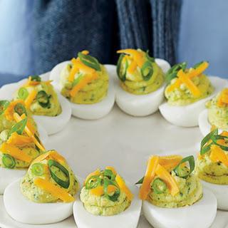 Tex-Mex Deviled Eggs