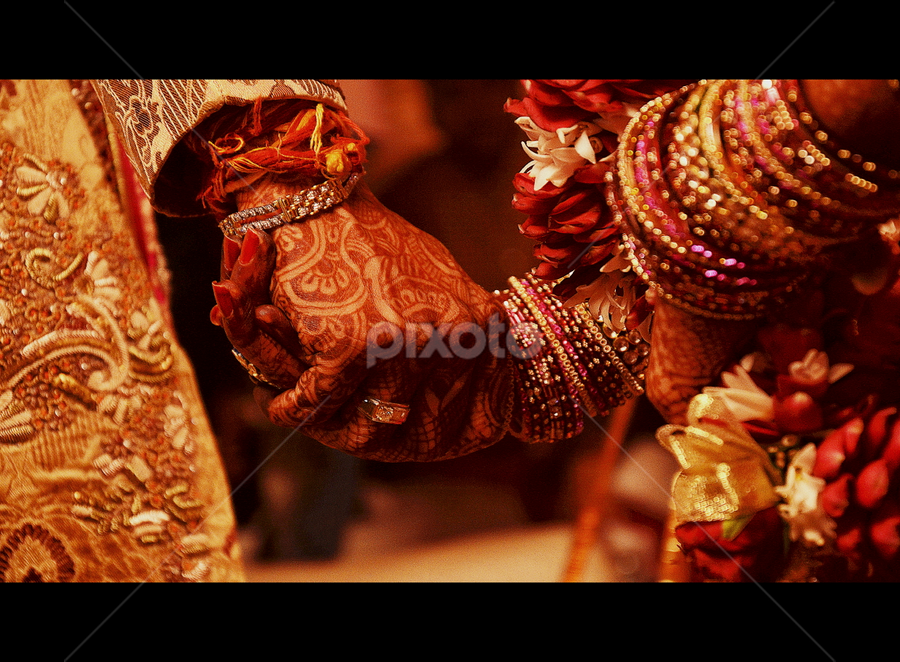 Promises forever : I'm with you! by Dinesh Chitlangia - Wedding Ceremony ( love, wedding, indian, promise, marriage, culture )