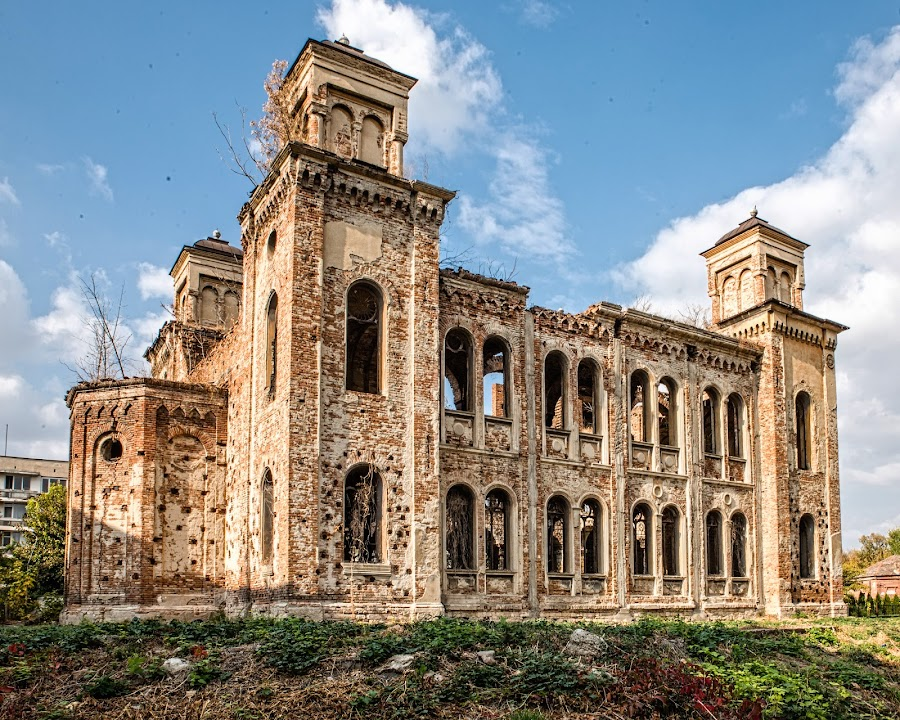 Old Synagogue by Richard Michael Lingo - Buildings & Architecture Decaying & Abandoned ( decaying, vidin, buildings, bulgaria, synagogue )