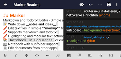 Markor - Text Editor - Notes & ToDo - Android app on AppBrain