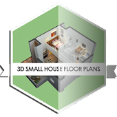 Small House Floor Plans 3D
