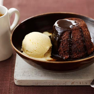 James' Sticky Toffee Pudding.