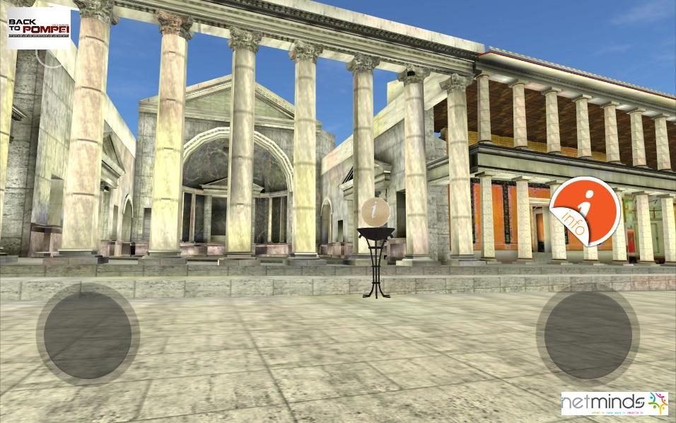 Back To Pompeii VR guide- screenshot