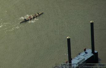 Photo: Rudern auf dem Rhein