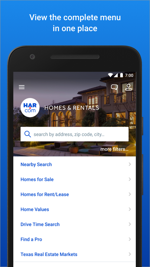 Real Estate by HAR.com - Texas- screenshot
