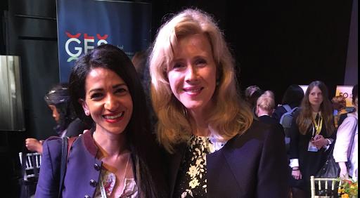 Avec Mona Reijzer, Secrétaire d'Etat néerlandaise aux affaires économiques et à la politique du climat