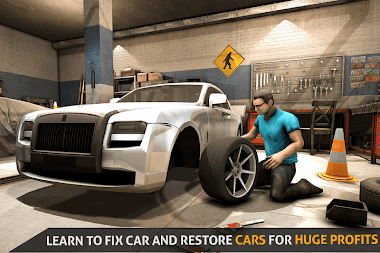 Car Tycoon 2018 – Car Mechanic Game APK screenshot thumbnail 4