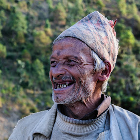 Smile for life by Bishal Ranamagar - People Portraits of Men ( life, baitadi, smile, portrait, nepal )