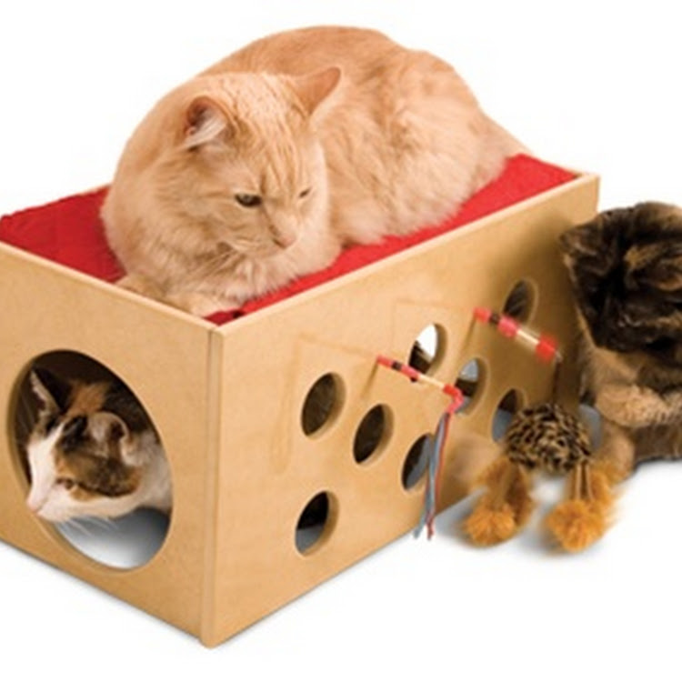 SmartCat Bootsie's Bunk Bed & Playroom by Pets Manic