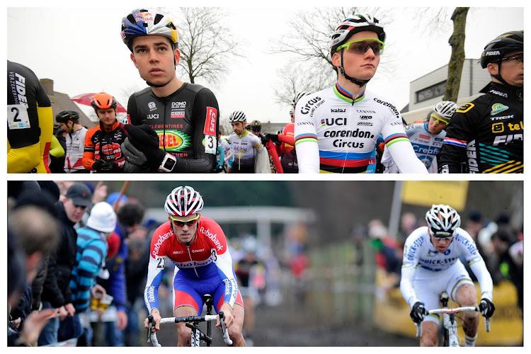 Wat als... Van der Poel en Iserbyt het nog eens tegen Van Aert, Stybar en Boom zouden kunnen opnemen?