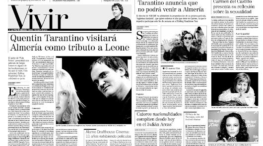 Aquella vez que Tarantino 'casi' visita Almería