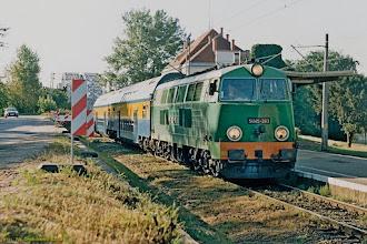 Photo: SU45-263, Toruń Główny - Grudziądz {Toruń Miasto; 2003-09-08}