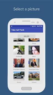 Make Fake Call - náhled