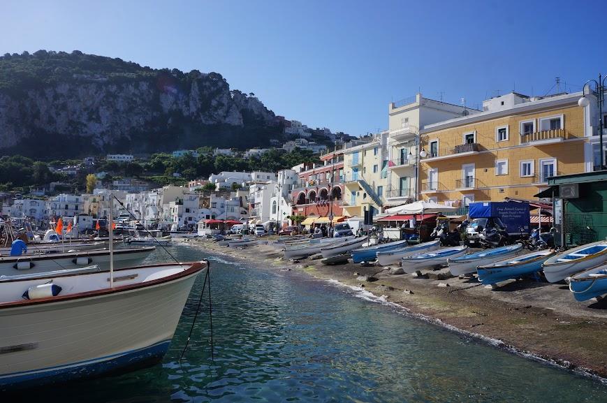 Port of Capri, Italy (2015)
