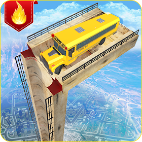 Mega Ramp Bus Stunts Simulator 19