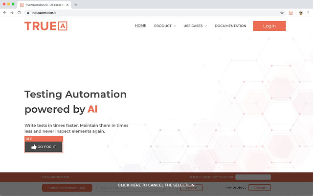 TrueAutomation Visual Test Recorder Helper