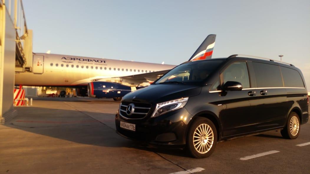 Минивэн Mercedes V класса в Казани