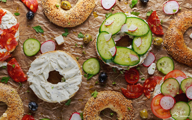Bagels HD Wallpapers New Tab Theme