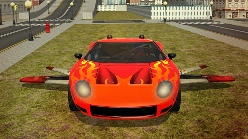 Free Flying Racing Car Driving 1.1 screenshots 11
