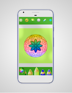 Coloring Mandala  Book Screenshot