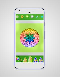 Coloring Mandala  Book 5