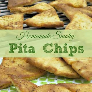 Homemade Smoky Pita Chips