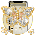 Gold Diamond Butterfly Theme? APK
