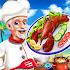 Crazy Kitchen Seafood Restaurant Chef Cooking Game