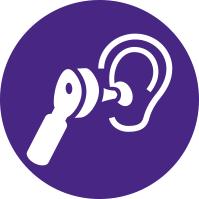 Simplified Hearing Test Illustration