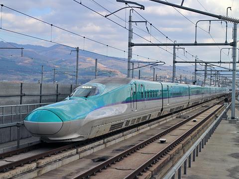 JR北海道 H5系新幹線「はやぶさ22号」 新函館北斗にて