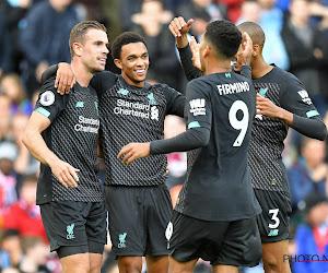Opvallend: Spelers van Liverpool trainden nog een laatste keer... op het veld van derdeprovincialer