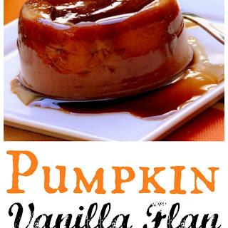 Pumpkin-Vanilla Flan.