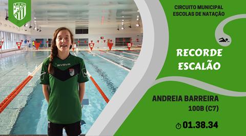 Andreia Barreira faz a