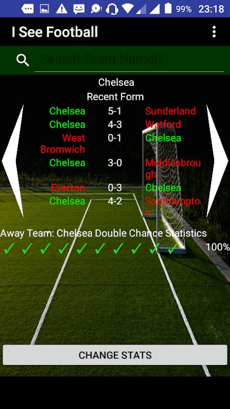 Soccer Statistics App(I See Football) APK 1 3 6 Download - Free