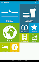 Screenshot of WWU Campusplan