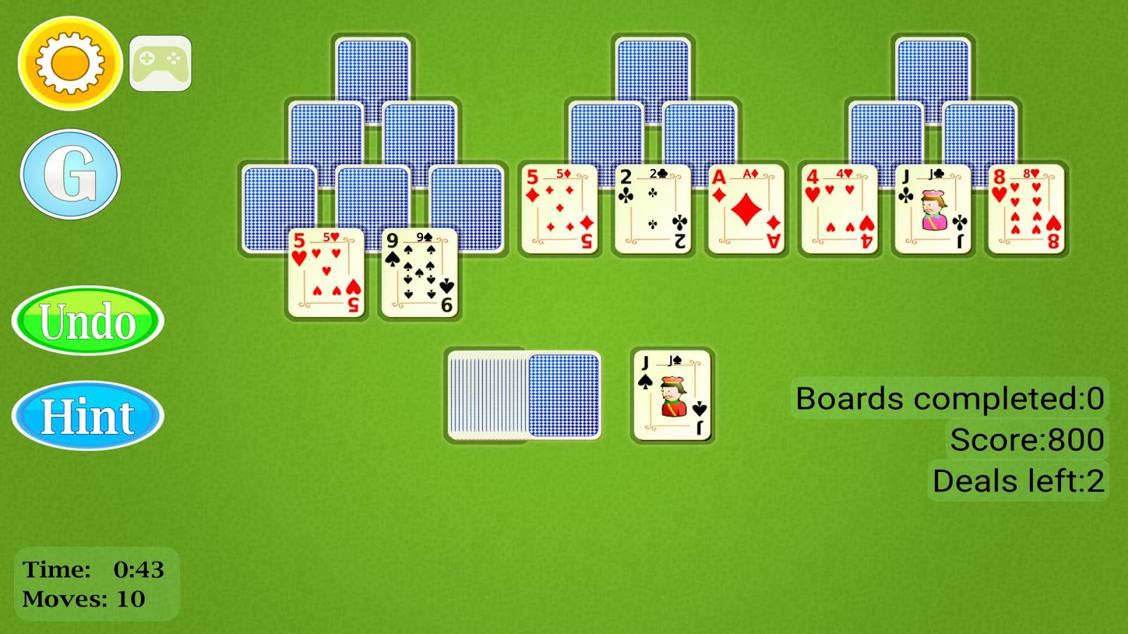 TriPeaks Solitaire Mobile- screenshot