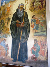 Photo: 002 Pyhä Benedictus luostarin seinällä