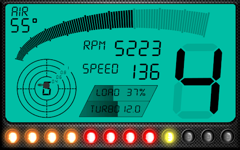RacingMeter for Torque Pro Screenshot