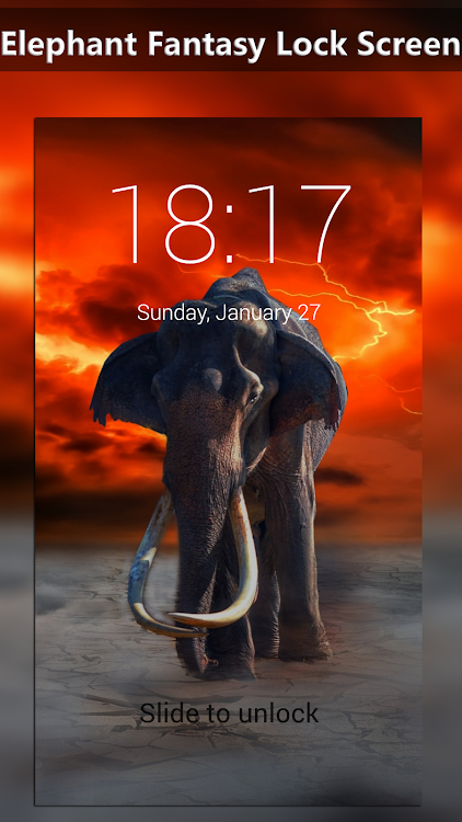 Elephant Fantasy Lock Screen Wallpapers Android