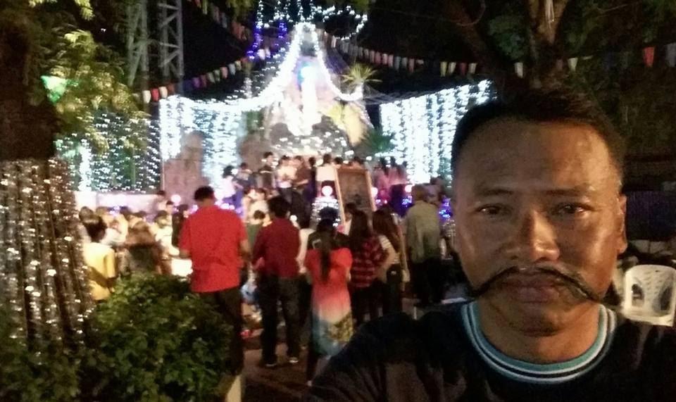 Giáng sinh 2016 tại nhà thờ Vientiane - Lào .