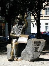 Photo: Lwów. Nikifor Krynicki, łemkowski malarz prymitywista. Ukraińcy traktują go jak swego.
