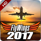 Flight Simulator 2017 FlyWings HD icon