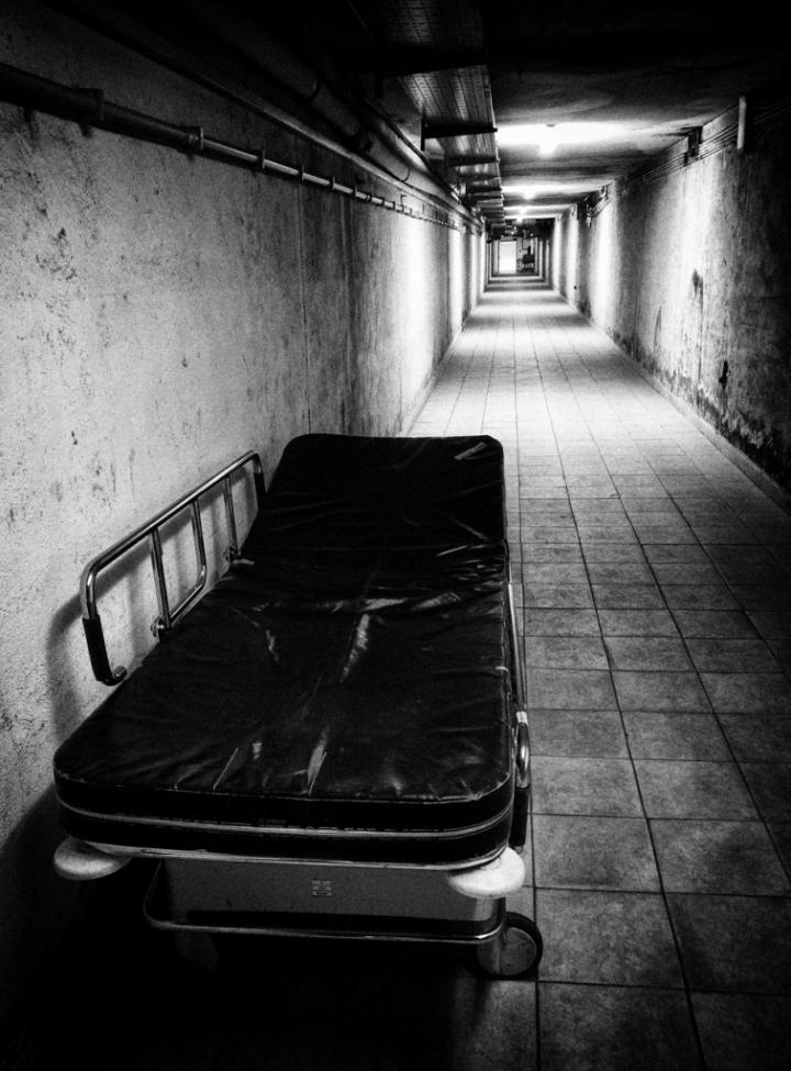 L'ospedale sotterraneo di Marino Paroli