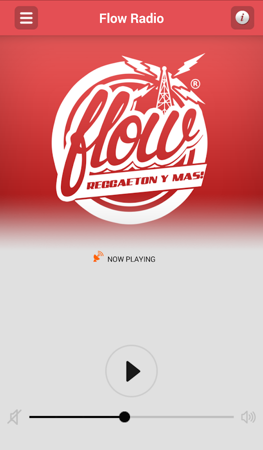 Flow Radio- screenshot