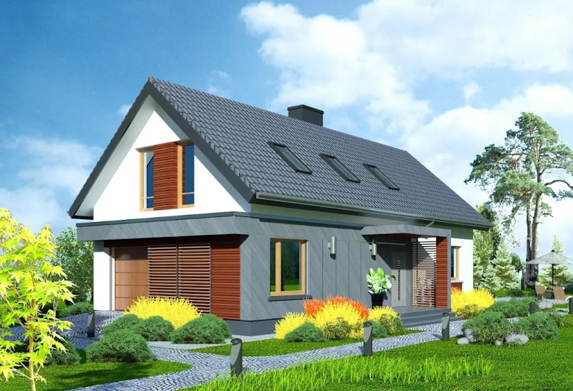 Projekt domu Domidea 50 d40