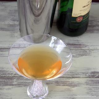 Lucky Ginger Martini