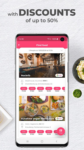 DiscoEat - Book Restaurants with Discounts - screenshot