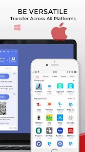 Zapya - File Transfer, Share Apps & Music Playlist Screenshot